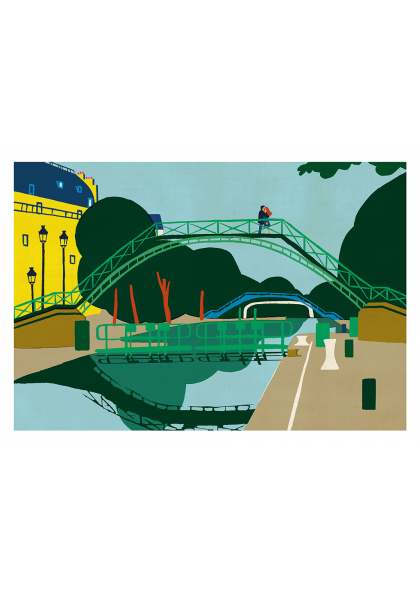 Paul Thurlby - Canal Saint Martin