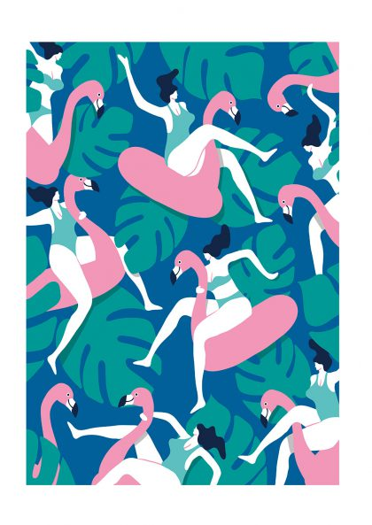 Quentin Monge - Flamingo Party 1