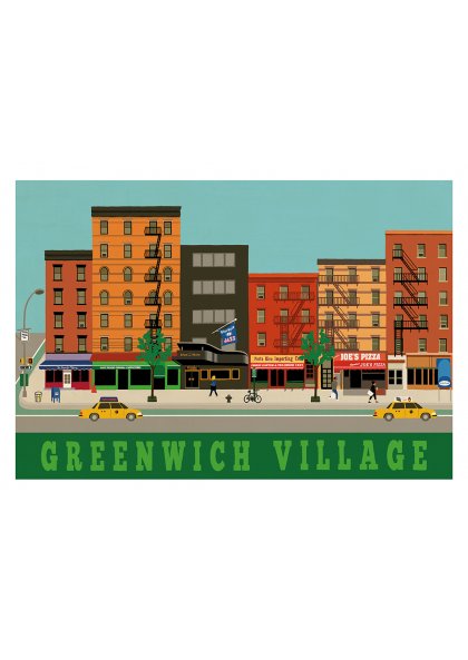 Paul Thurlby Greenwich Village