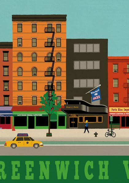 Paul Thurlby - Greenwich Village