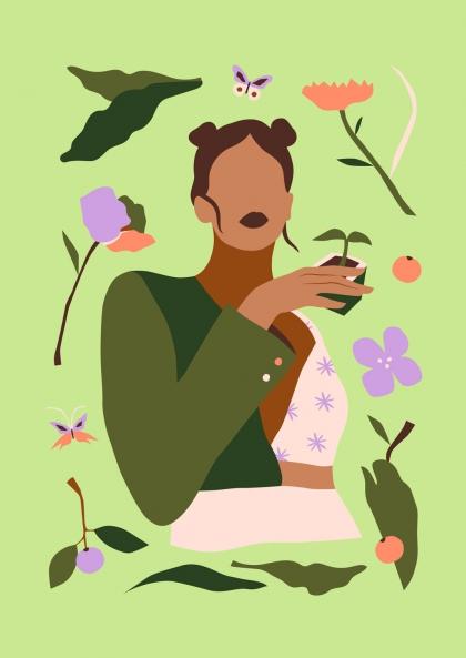Alexandra de Assunçao - Inventaire végétal