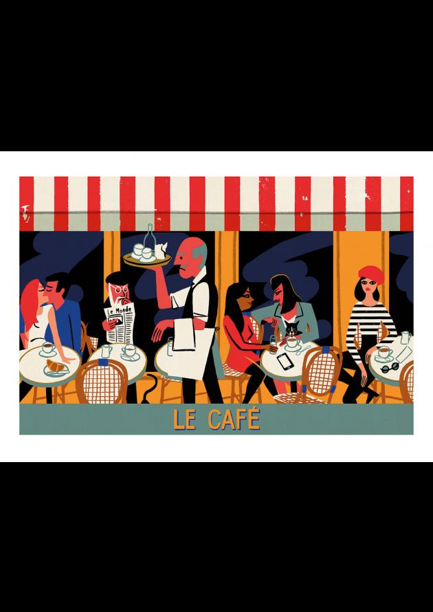 Paul Thurlby - Le café