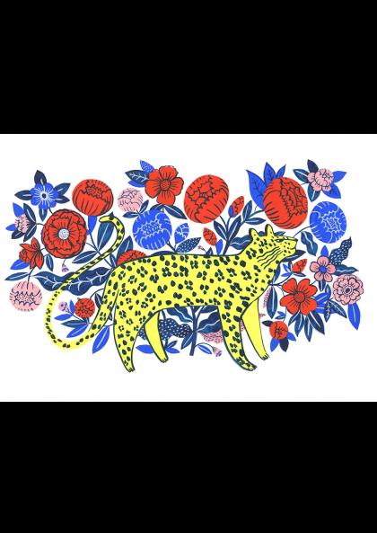 Agathe Singer - Leopard in Garden