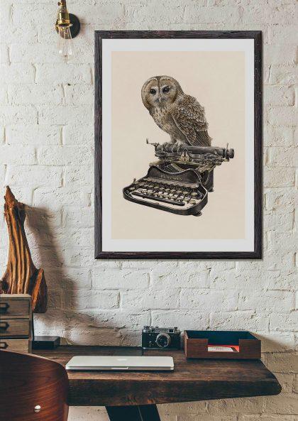 Steeven Salvat - Machine à écrire