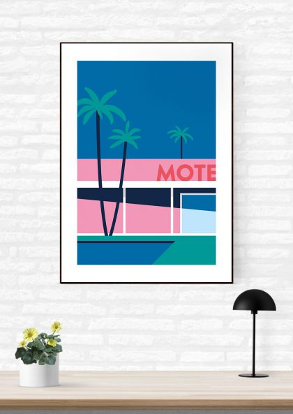 Quentin Monge - Palm Spring Motel