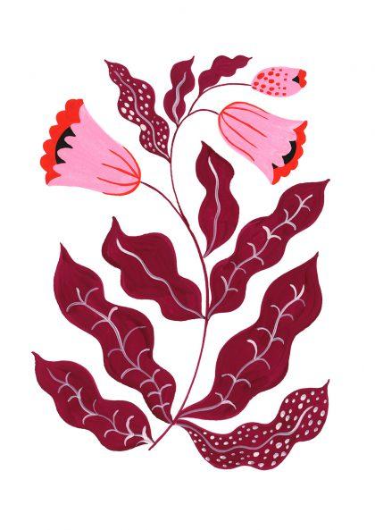 Agathe Singer - Pink Flower