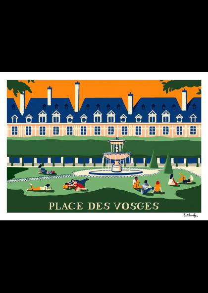 Paul Thurlby - Place des Vosges