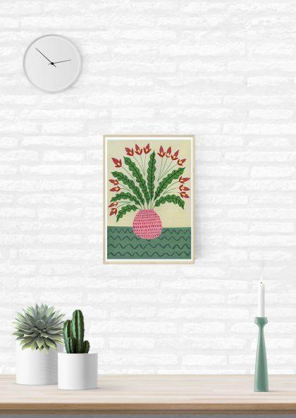 Agathe Singer Plant on green