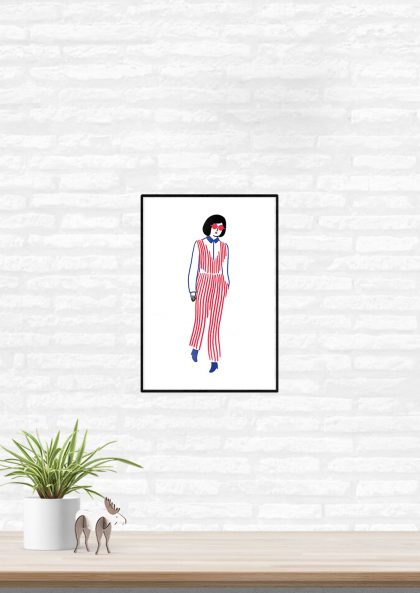 Agathe Sorlet Stripes girl 2