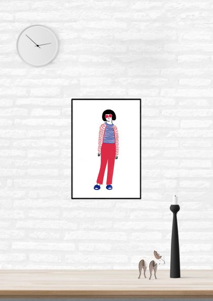 Agathe Sorlet - Stripes girl 3