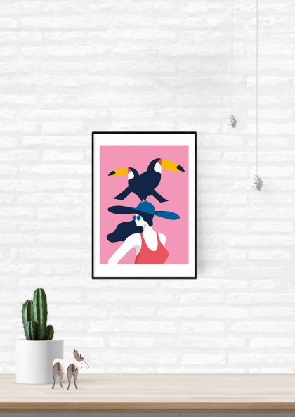 Quentin Monge Toucan Lady