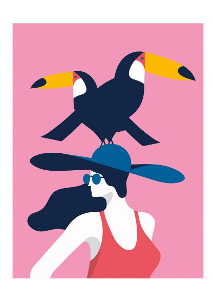 Quentin Monge - Toucan Lady