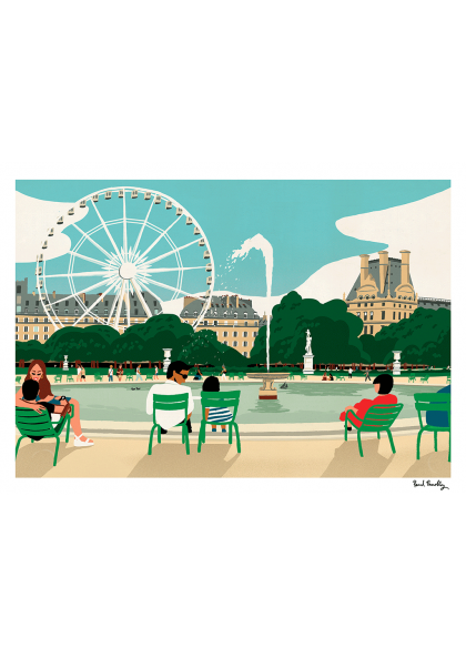 Paul Thurlby - Tuileries