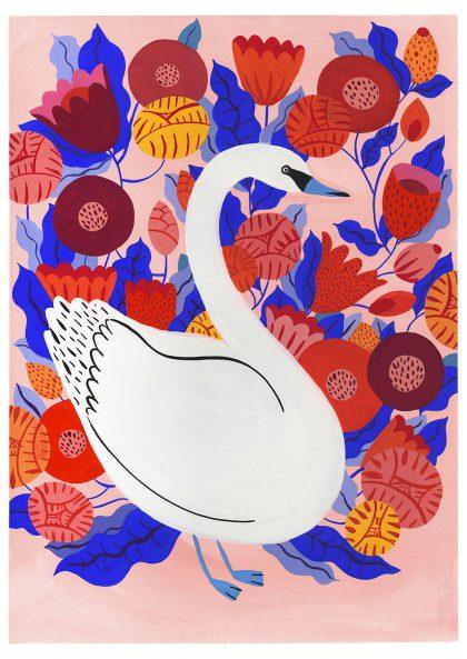 Agathe Singer - White Swan